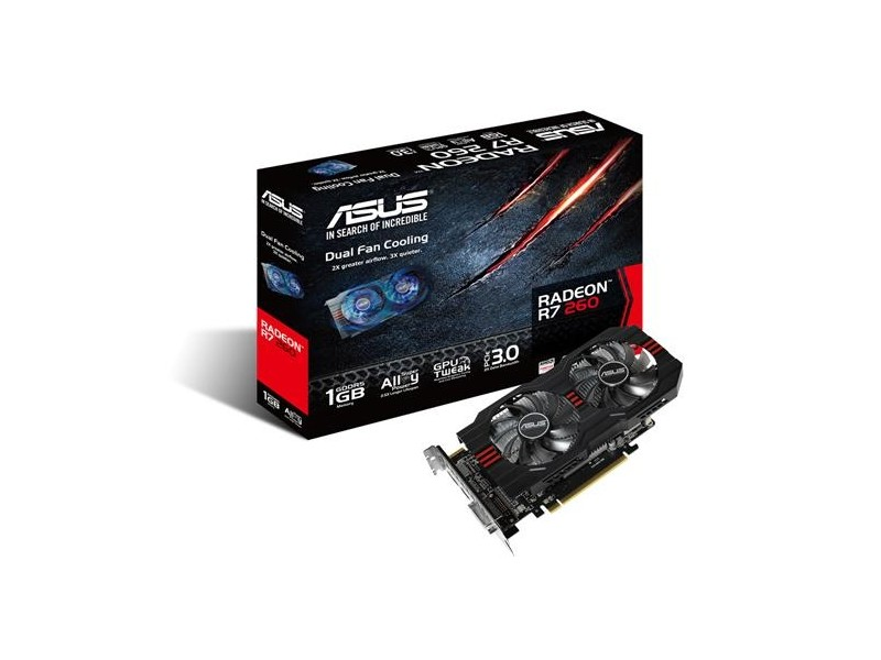 Asus AMD R7260-1GD5 1GB DDR5