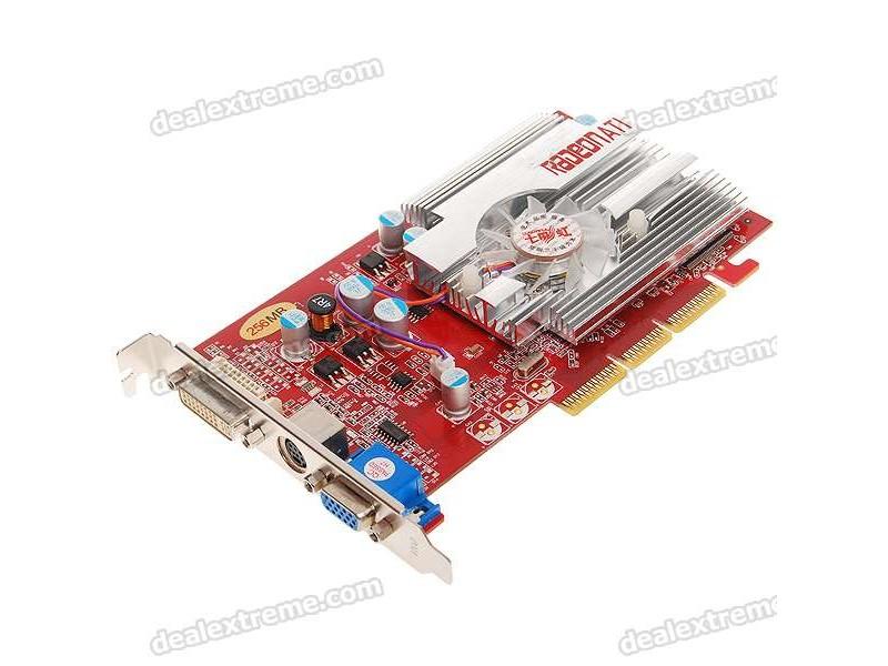 Ati Radeon 9550 256mb 128 bit AGP Potpuno nov