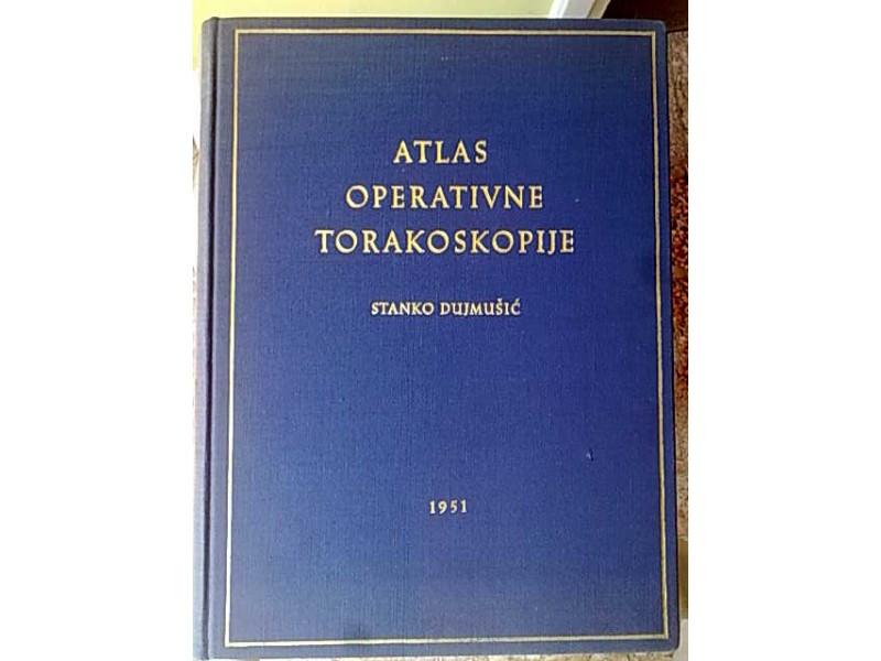 Atlas operativne torakoskopije-Dr Stanko Dujmusic