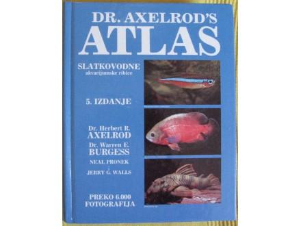 Atlas slatkovodne akvarijumske ribice  Dr Axelrods