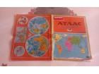 Atlas  zemlje sveta    1980