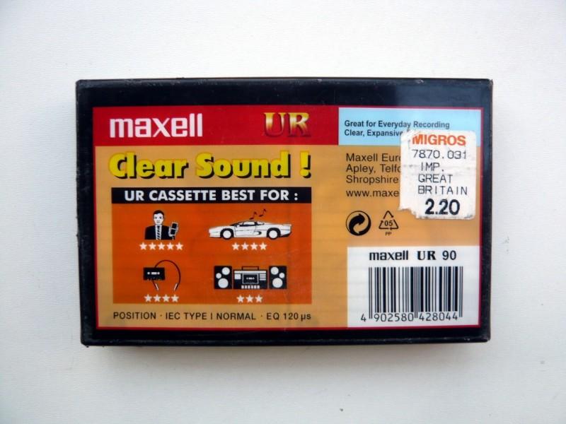 Audio Kaseta MAHELL UR