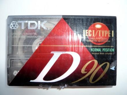 Audio Kaseta TDK D 90