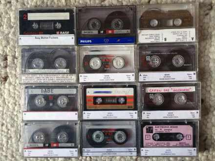 Audio kasete x12