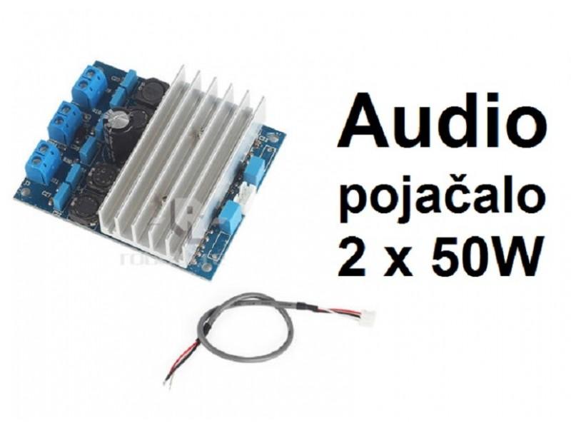 Audio pojacalo 2x50W - TDA7492