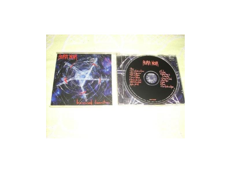 Aura Noir-Increased Damnation CD