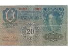 Austrija 20 kruna 1913.