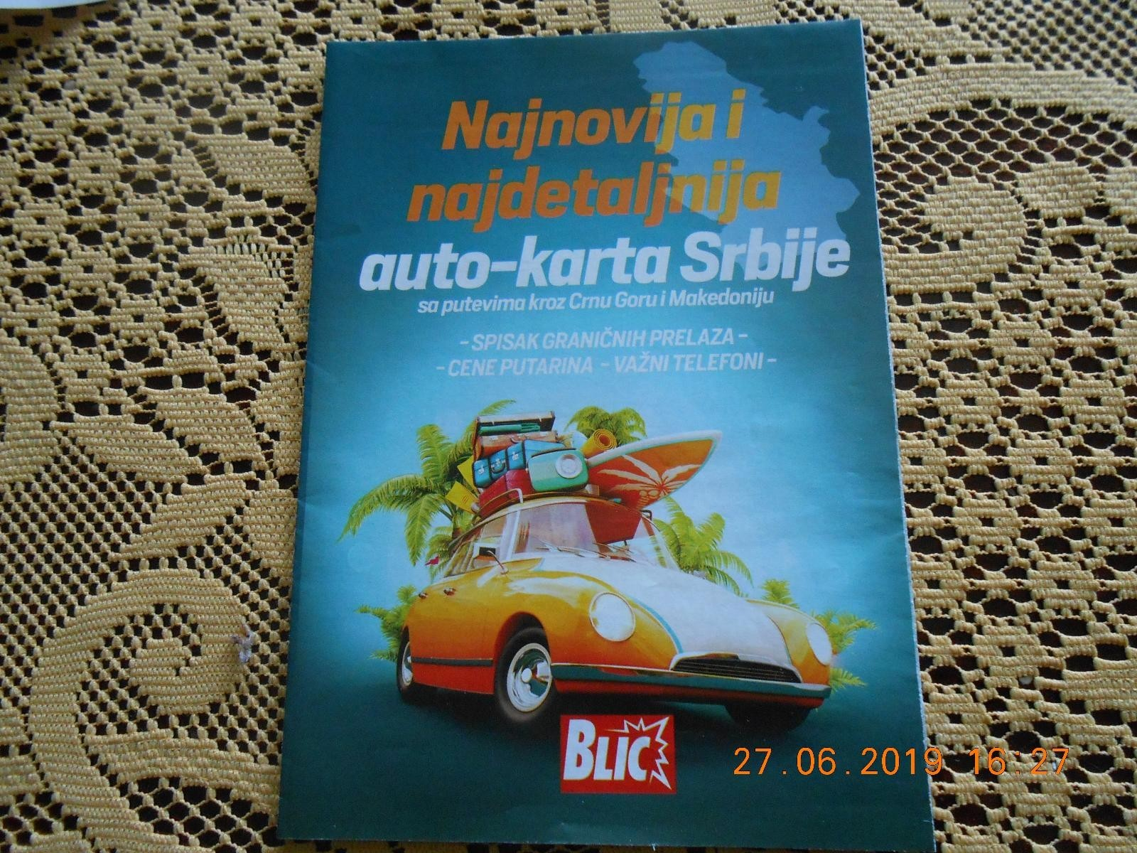 Auto Karta Srbije Kupindo Com 55704875