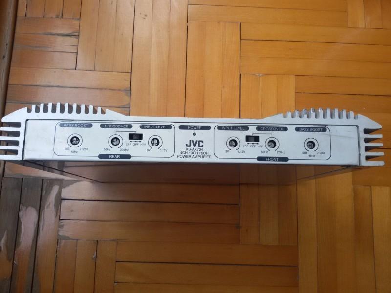 Auto pojačalo JVC KS-AX704