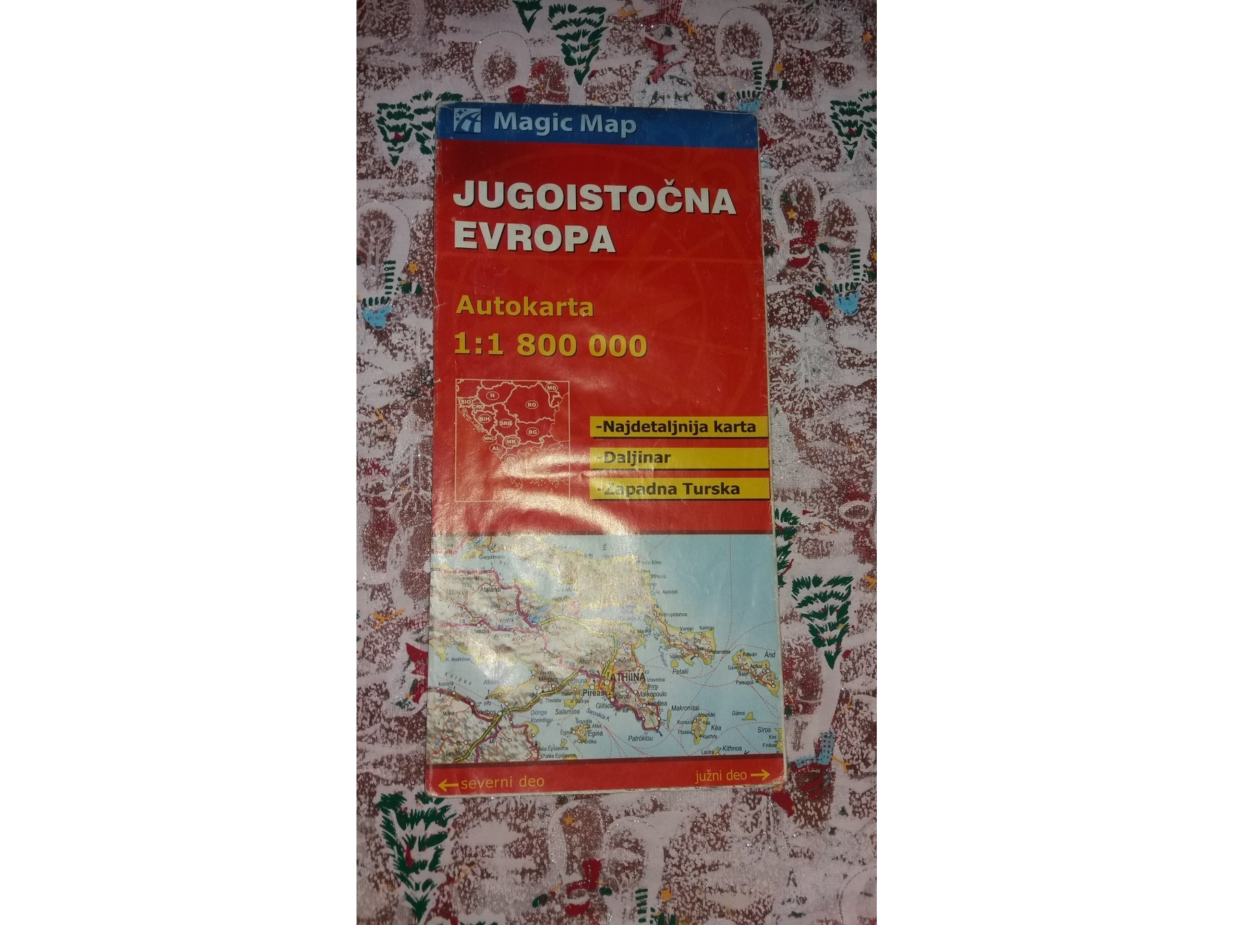 Autokarta Jugoistocne Evrope Kupindo Com 36913919