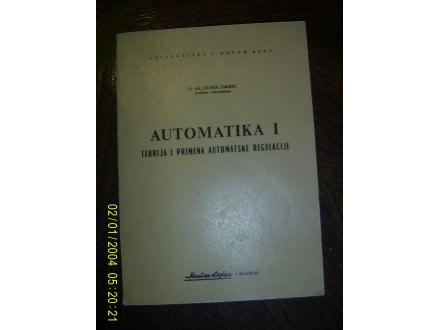 Automatika 1 teorija i primena automatske regulacije