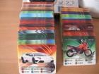 Automoto 2009 Ledo kartice  107 kom