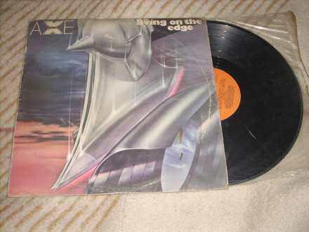 Axe - Living On The Edge LP