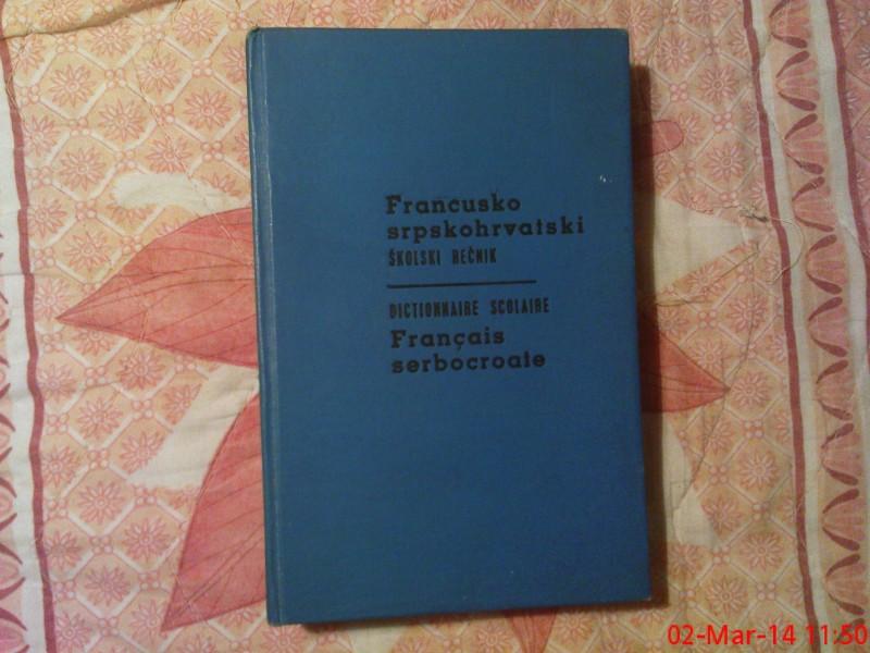 B. GRUJIC - FRANCUSKO - SRPSKOHRVATSKI SKOLSKI RECNIK