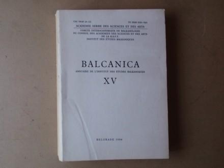 BALCANICA / BALKANIKA XV