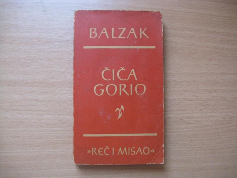 BALZAK - Cica Gorio