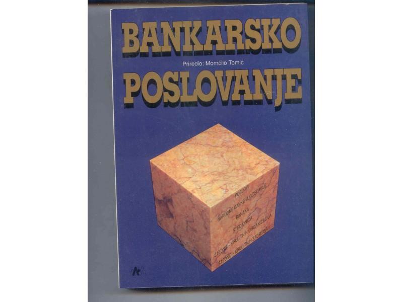 BANKARASKO POSLOVANJE -