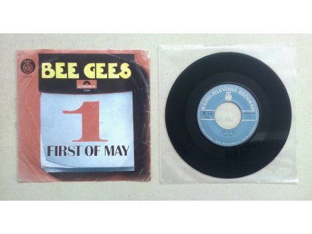 BEE GEES - First Of May (singl) licenca