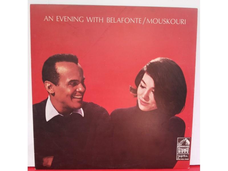 BELAFONTE/MOUSKOURI-AN EVENING WITH BELAFONTE/M.,LP