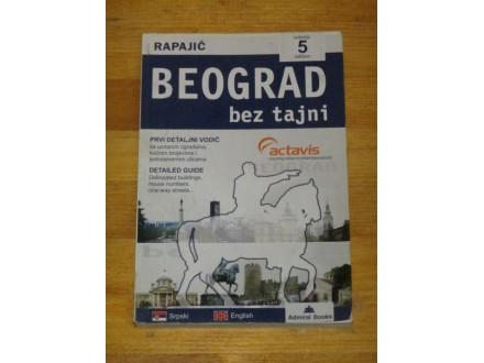 BEOGRAD BEZ TAJNI 5. izdanje - Rapajić
