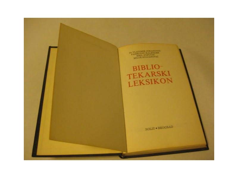 BIBLIOTEKARSKI LEKSIKON