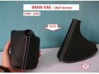 BMW E46 kožice menjača i ručne (BELI KONAC)
