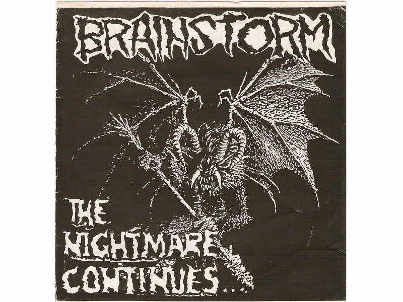 BRAINSTORM: The Nightmare Continues... - 7`EP