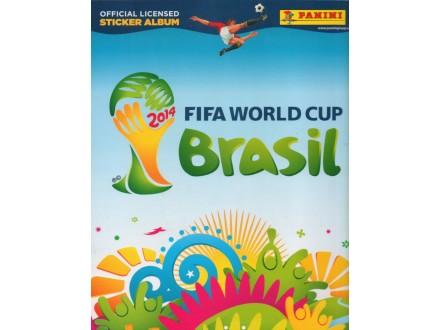 BRASIL Brazil FIFA WC 2014 prazan album