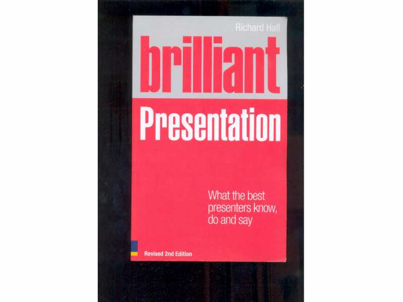 BRILLIANT PRESENTETION  RICHARD HALL