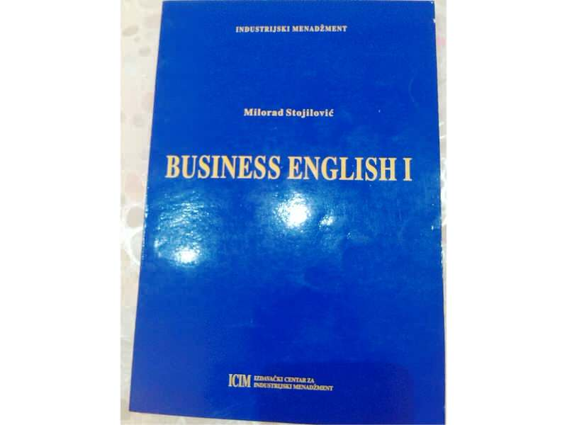BUSINESS ENGLISH 1 - Milorad Stojilović