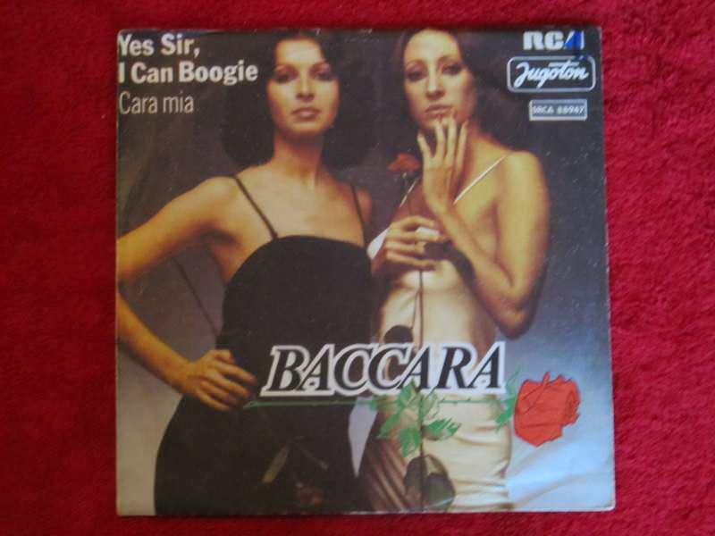 Baccara - Yes Sir, I Can Boogie / Cara Mia