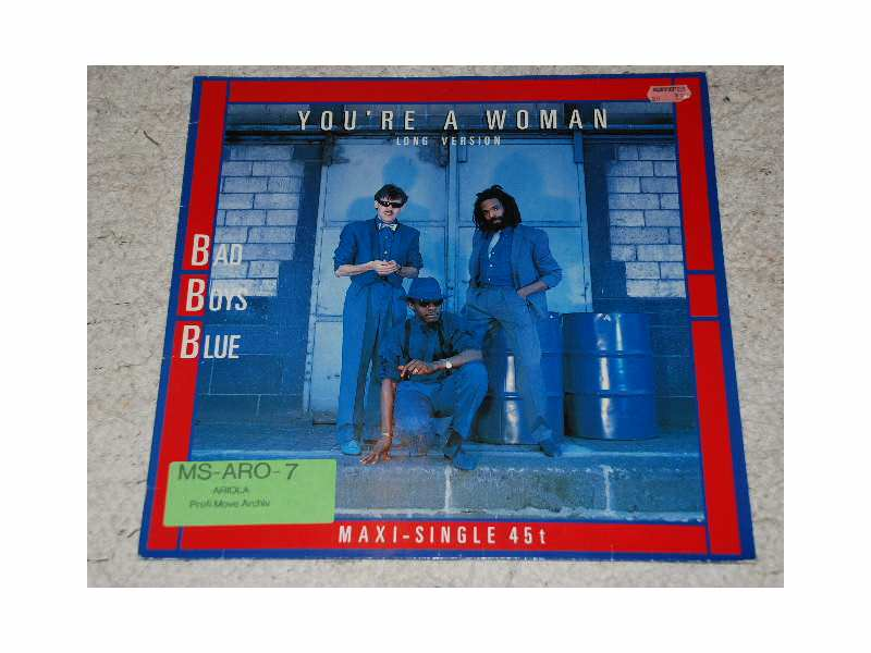Bad Boys Blue - You`re A Woman Italo Disco