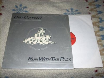 Bad Company-Run With The Pack LP