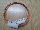 Bakarna lak žica za izradu nakita 0,8mm 12m