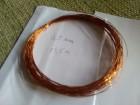 Bakarna žica za izradu nakita 0,5mm 14m