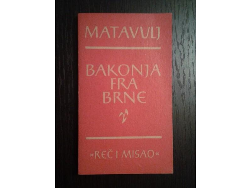 Bakonja Fra-Brne - Simo Matavulj