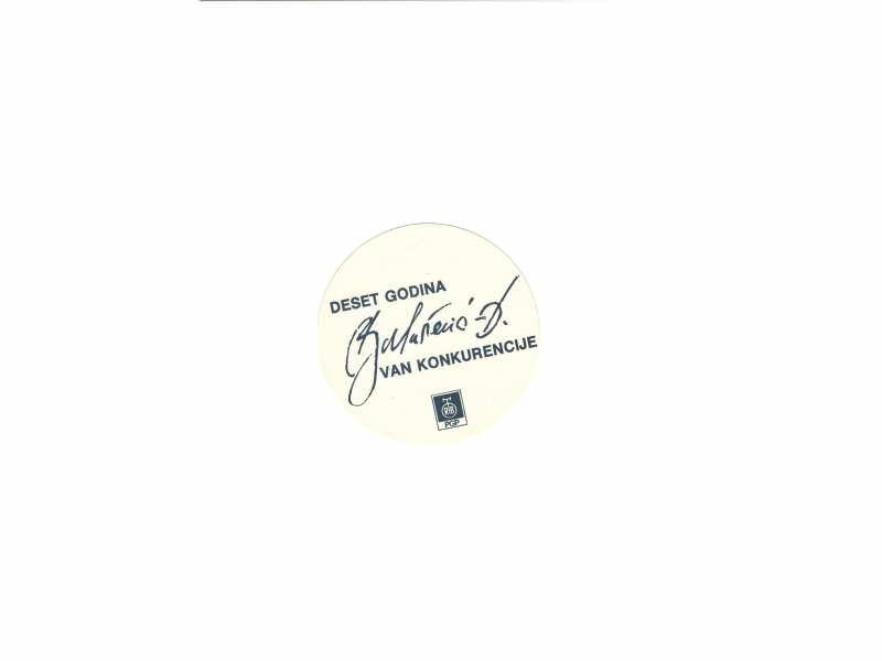 Balasevic - reklamni flajer   10 cm