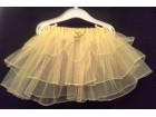 Baletska suknja ŽUTA