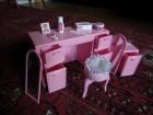 Barbie toaletni stočić