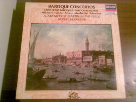 Baroque Concertos: Avison, Manfredini, Albinoni, Handel, Telemann