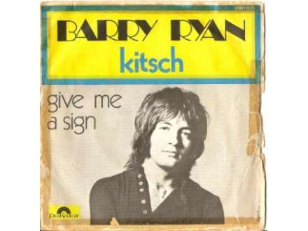 Barry Ryan - Kitsch