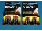 Baterije alkalne DURASEL deblje ili tanje 1,5 V. Novo