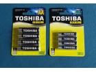 Baterije alkalne TOSHIBA  Novo.