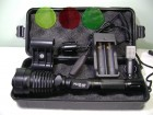 Baterijska Led CREE lampa Police 50000W sa filterima