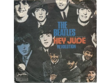 Beatles - Hey Jude / Revolution SINGL