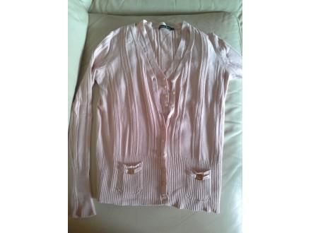 Bebi roze PdH set, kardigan i bluza