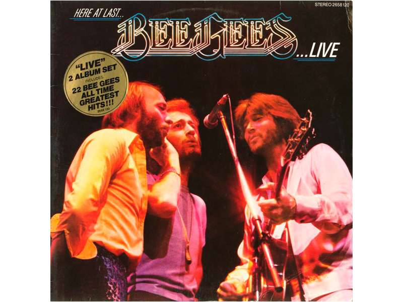 Bee Gees - Here At Last - Live   2LP