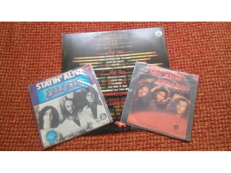 Bee Gees-Komplet LP + 2 Single Ploce