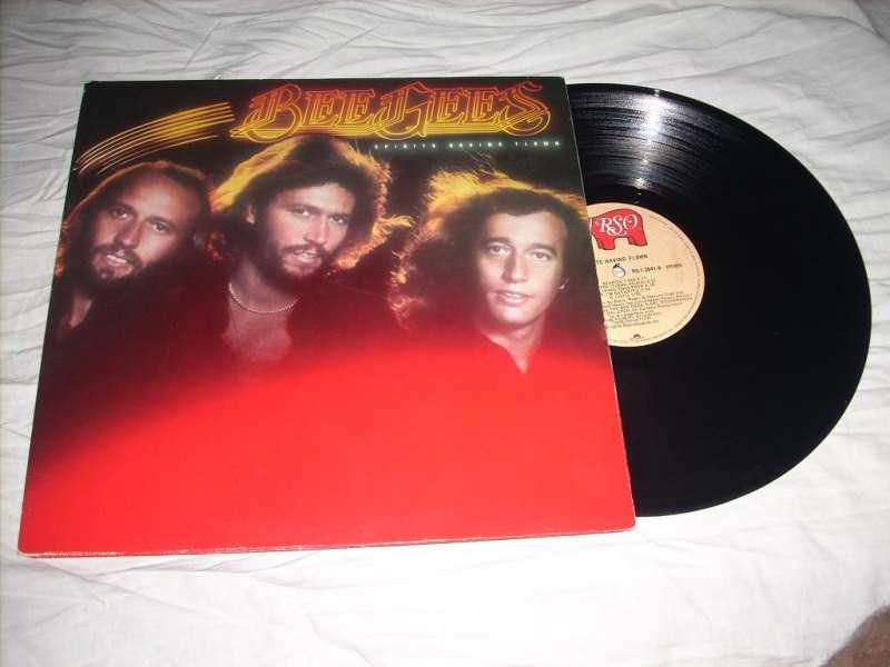 Bee Gees - Spirits Having Flown LP RSO Canada
