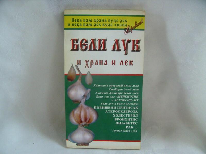 Beli luk i hrana i lek